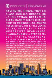 The 2014 lineup