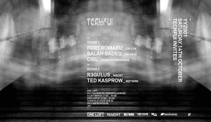 Techfui Invites Fort Romeau poster