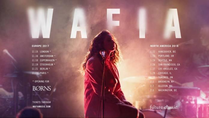 Waifa tour poster