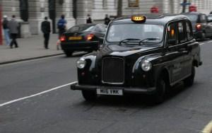 London's iconic black cabs