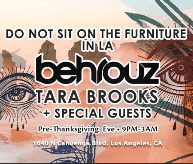 behrouz do not sit on the furniture in la