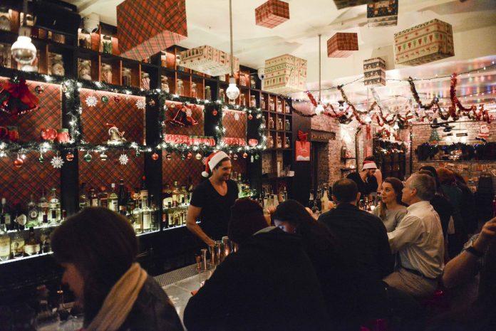 Miracle Christmas bar NYC