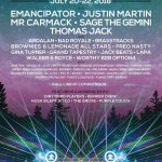 Northern Nights 2018 lineup poster