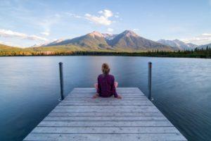 meditation setting