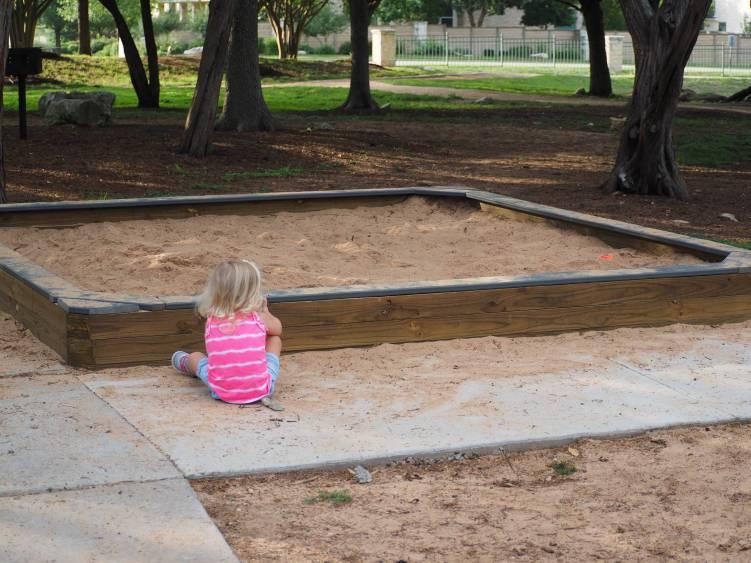 Sun Tree Park Sandbox