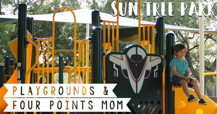 Checking Out Sun Tree Park's New Playground