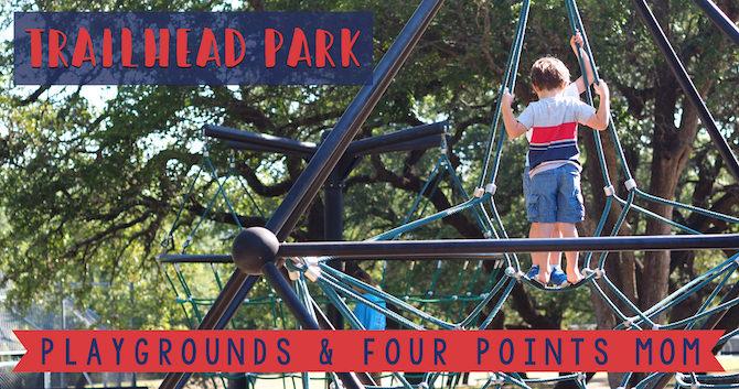 Spinning Around Trailhead Park