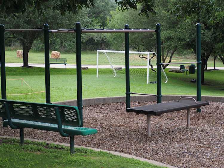 Woodlands Park Exercise Area