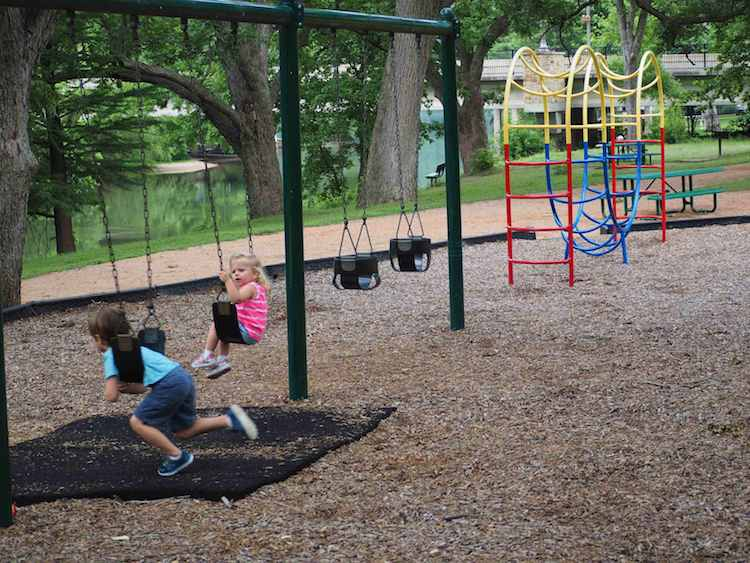 Woodlands Park Swings Jungle Gym