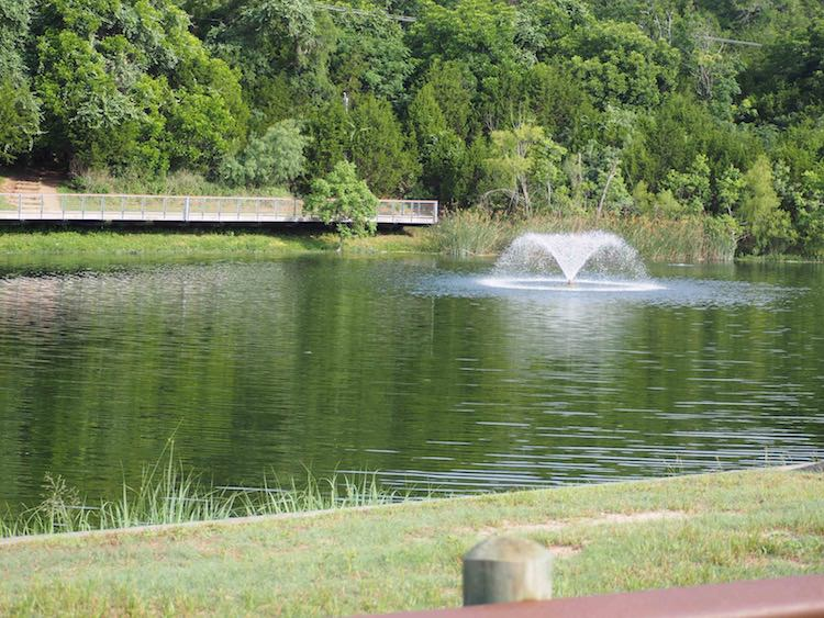 Woodlands Park Fountain
