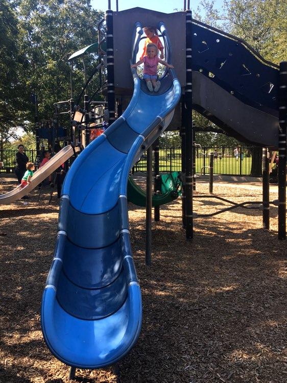 parker top of slide