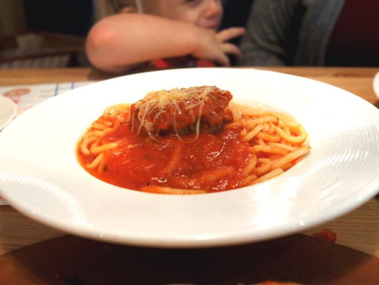 Napa Flats Spaghetti and Meatball