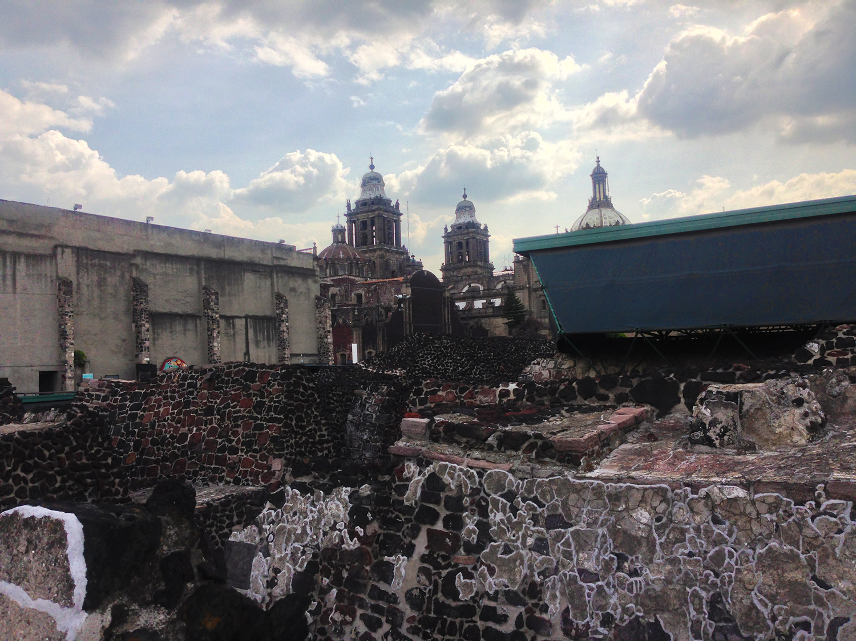 Capital City of Tenochtitlan  |Tenochtitlan Ruins
