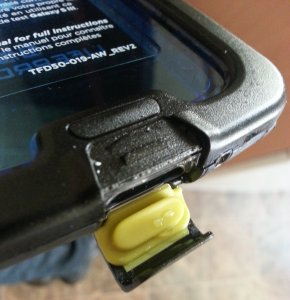 Lifeproof base, wet lock