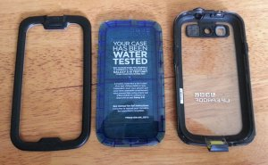 Lifeproof cover and test unit