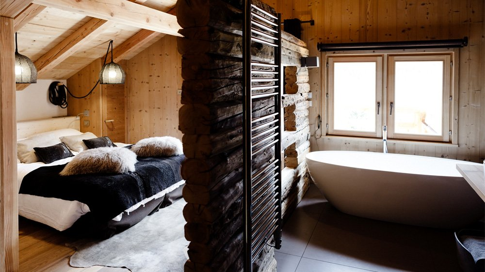 dco chambre style chalet