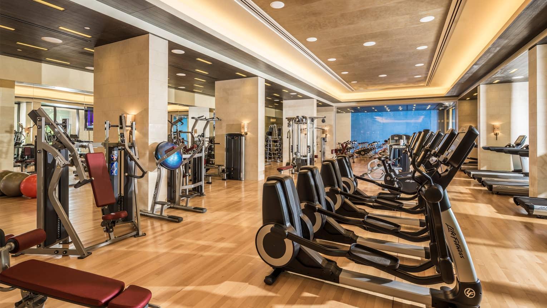 Resort Fitness Center in Jumeirah Beach  24Hour  Four