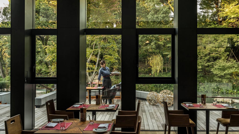 Restaurants  Bars in 5 Star Luxury Hotel  Four Seasons Kyoto
