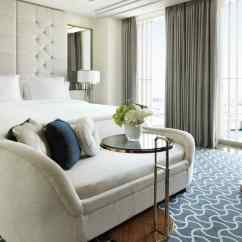 The Living Room Mattress Abu Dhabi Small Ideas With Tv And Fireplace Hotel Luxury Four Seasons Al Maryah Island Superior Plush White Sofa Cushions At Foot Of Bed Tall Padded Headboard