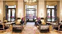Paris Hotel Lounge La Galerie Four Seasons