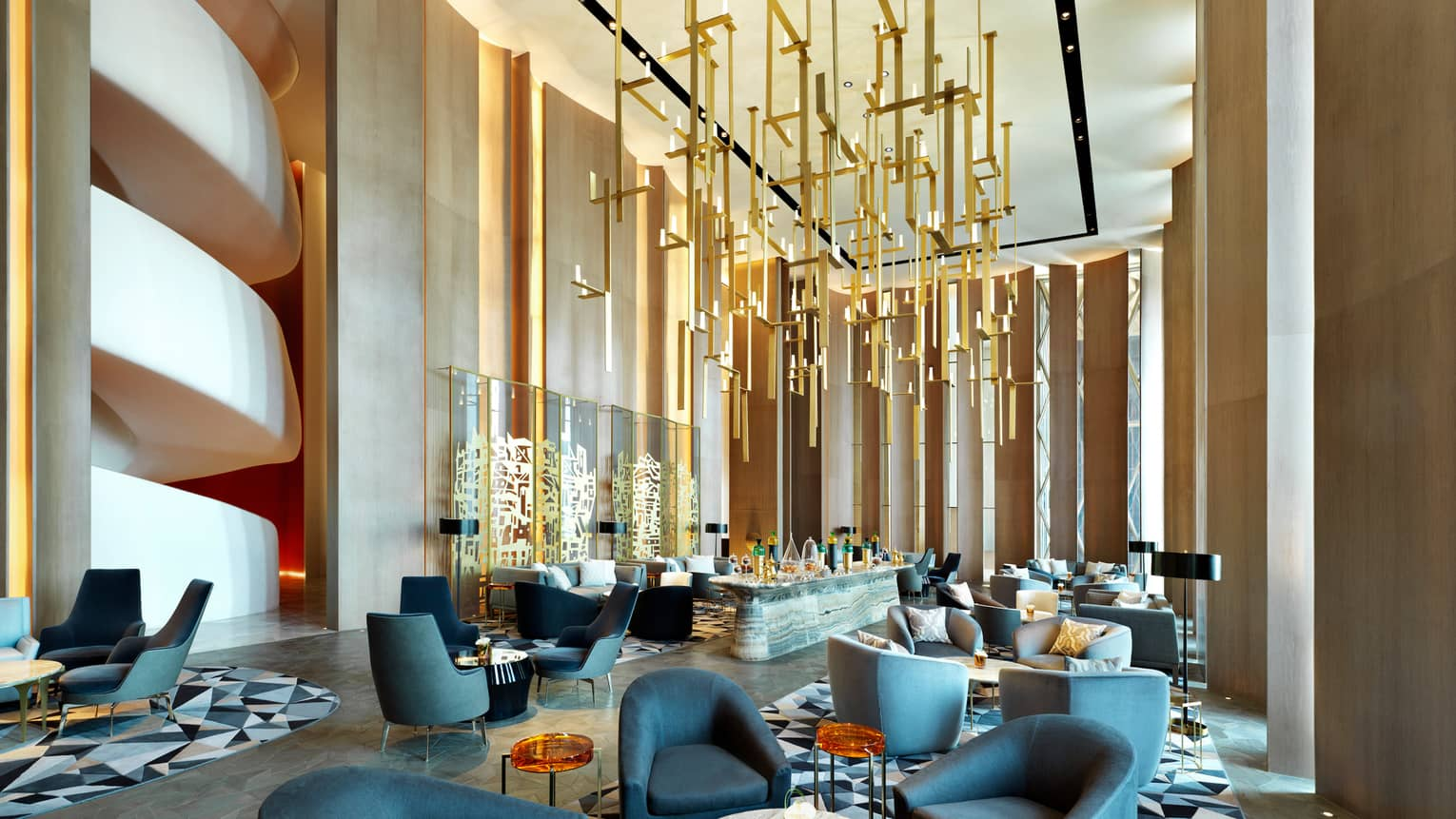 Kuwait City Hotel Lounge  Al Soor  Four Seasons Hotel at