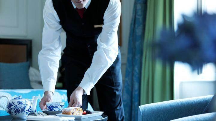 Prague Luxury Hotel InRoom Dining  24Hours Service  Four Seasons