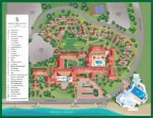 Santa Barbara Resort Map Four Seasons Biltmore