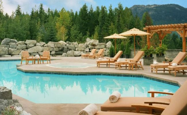 Whistler Hotel Pool Outdoor Heated Four Seasons