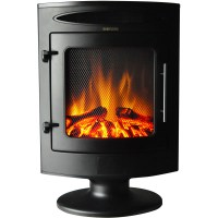 Cambridge 1500W Freestanding Electric Fireplace with Log ...