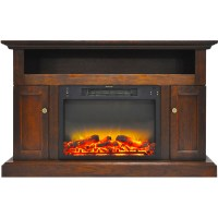 Cambridge Sorrento Electric Fireplace with an Enhanced Log ...