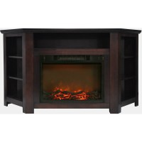 Cambridge Stratford 56 In. Electric Corner Fireplace in ...