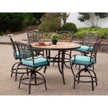 High Top Outdoor Dining Table Sets