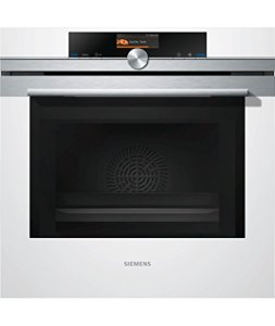 Siemens HM676G0W1F Intégré 67L 900W Acier inoxydable, Blanc micro-onde – Micro-ondes (Intégré, 67 L, 900 W, boutons, Acier inoxydable, Blanc, Vers le bas)