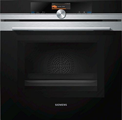 Siemens hm636gns1iQ700Four électrique/67l/micro-ondes intégrée/Acier inoxydable