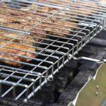 KEKEYANG Barbecue Griller panier, poisson grillé clip Portable Splint Toast beat net Barbecue Place Extérieur