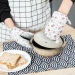 Gants anti-brûlures épaissis, four de cuisson domestique, four à micro-ondes, gants d'isolation thermique anti-brûlure