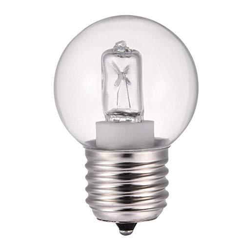 chifans Lot de 10 ampoules de four 40 W – Résistantes à la chaleur jusqu'à 500 °C – Pour micro-ondes et four – 2650 K – Blanc chaud
