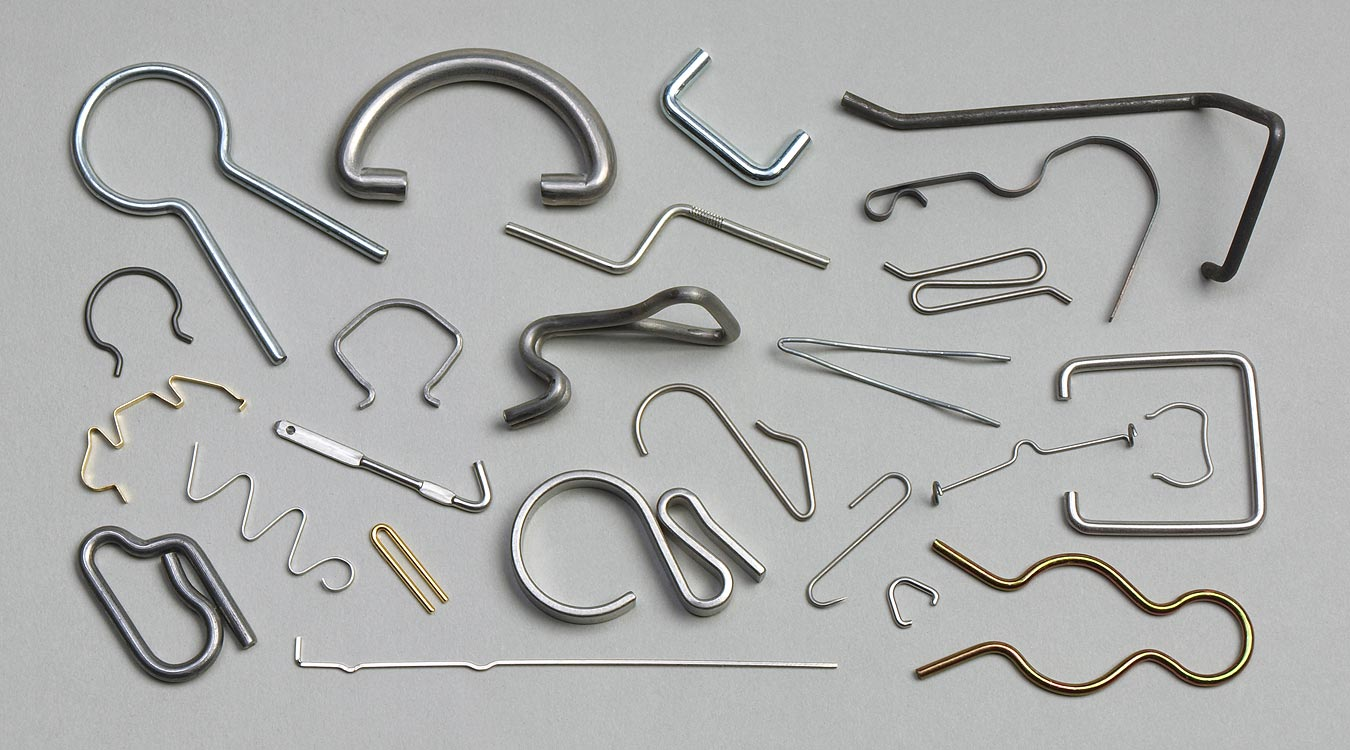Wire Forms, All Shapes & Sizes, Ribbon Forms From Strip