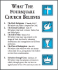 What The Foursquare Church Believes
