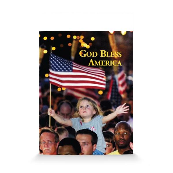 God Bless America-English