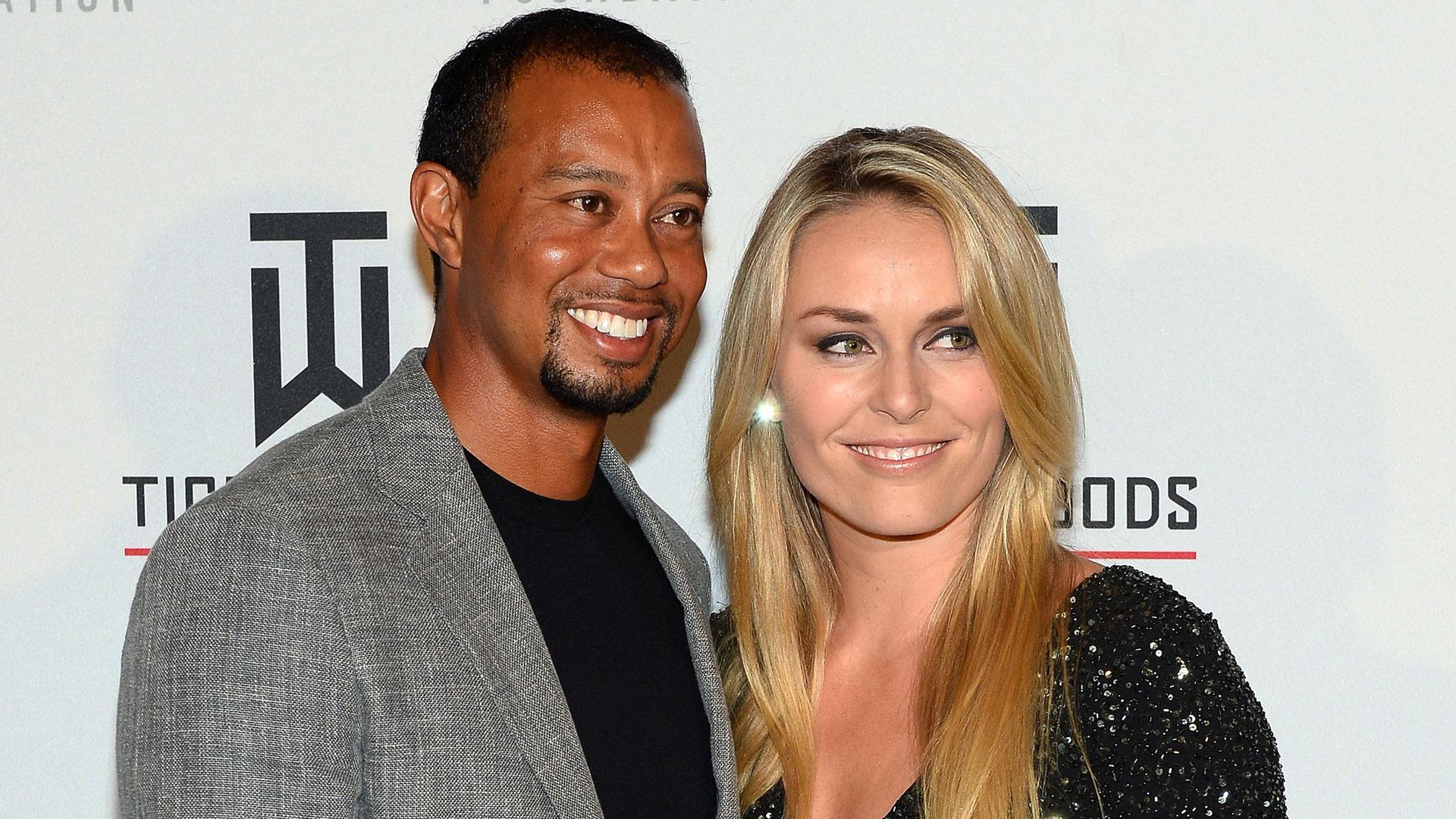 Tiger Woods and former partner Lindsey Vonns hacked nude