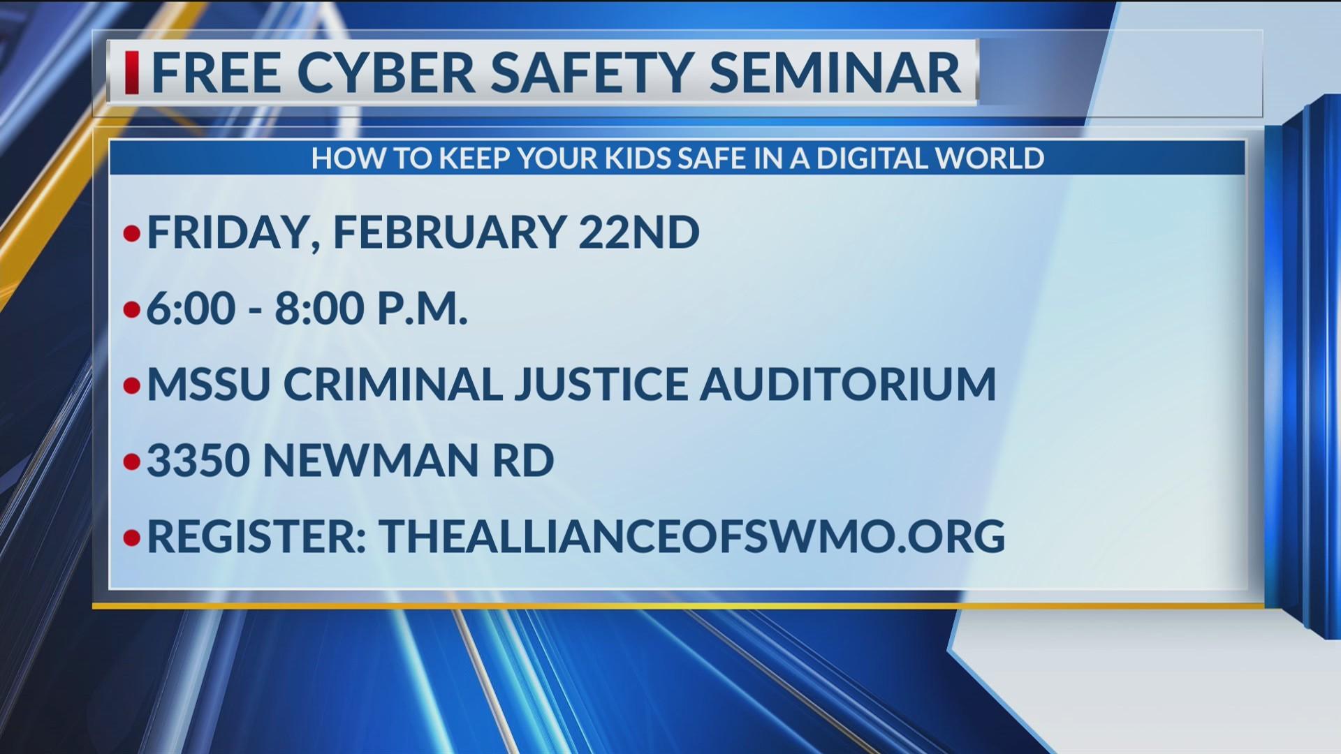 Free Cyber Safety Seminar