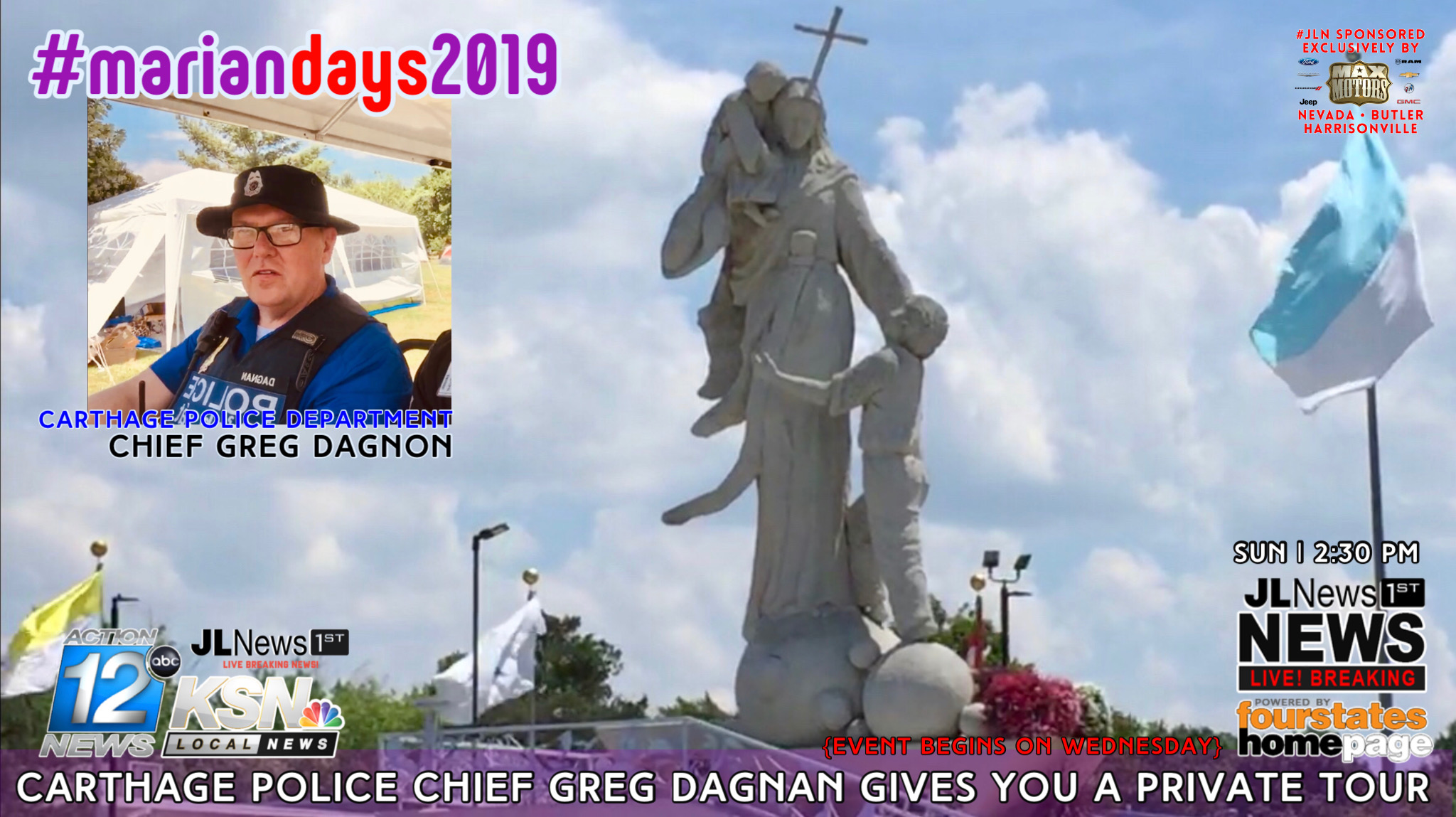 Marian Days 2019 in Carthage: Private Tour with Chief Greg Dagnan