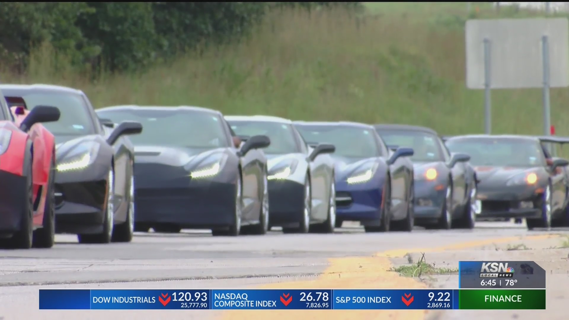 Corvette caravan makes pit stop in Four States | KSNF/KODE