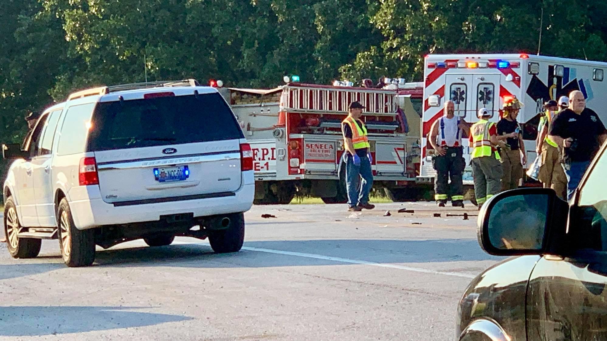 State Line Fatality Crash at Seneca
