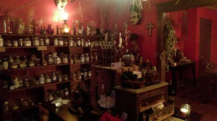 Charms and Potions at The Dry River Witches Collective in Tucson, AZ. Photo courtesy of Dry River Witches Collective.
