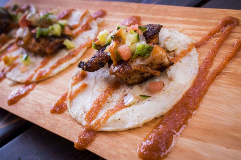 Taco Tuesday special at Ermanos Craft Beer & Wine Bar (credit: Arizona Daily Star)
