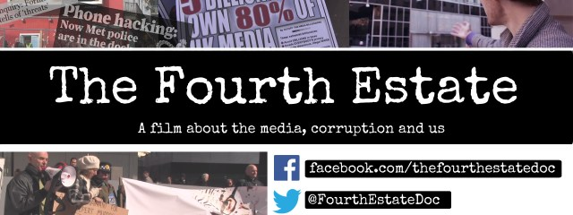 Front of Fourth Estate flyer