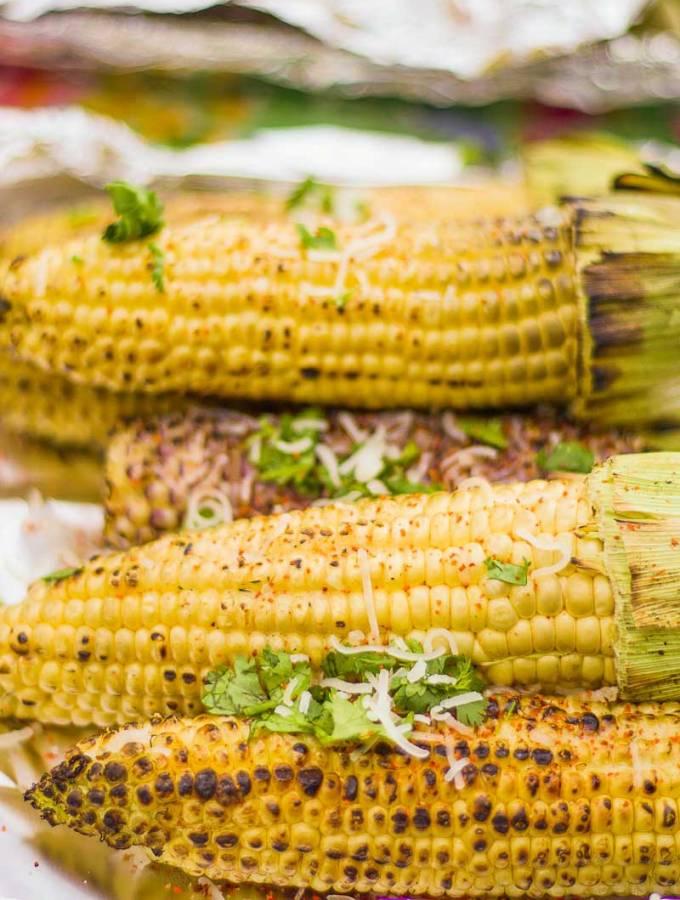 Mexican BBQ Corn