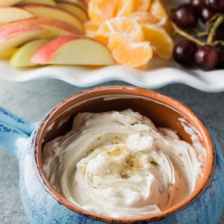 cream cheese yogurt fruit dip